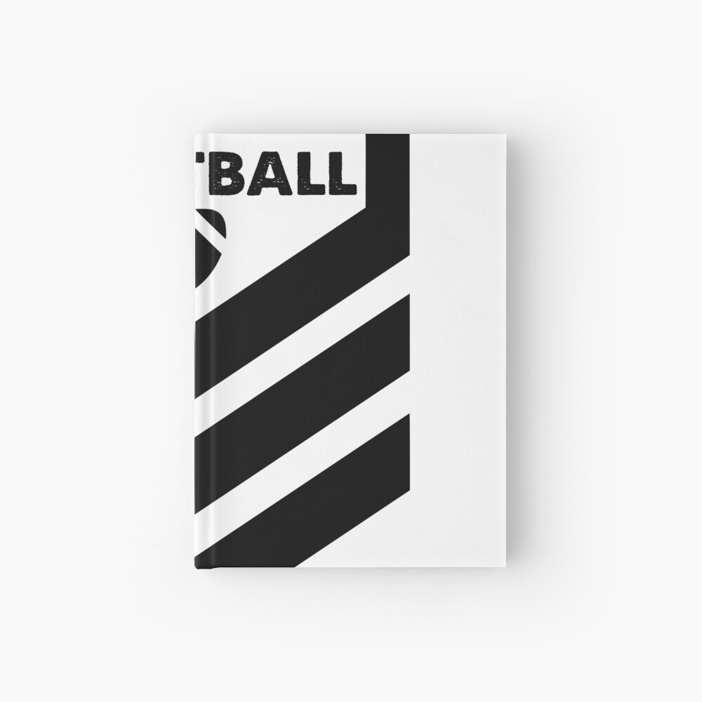 #FOOTBALL STRIPES Cuaderno de tapa dura