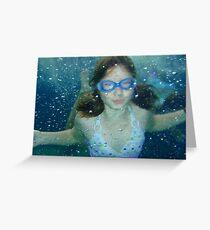 Mer girl Greeting Card
