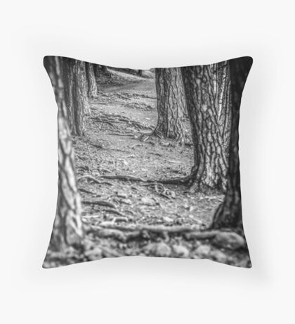 Rootway 2012 - black edition Throw Pillow