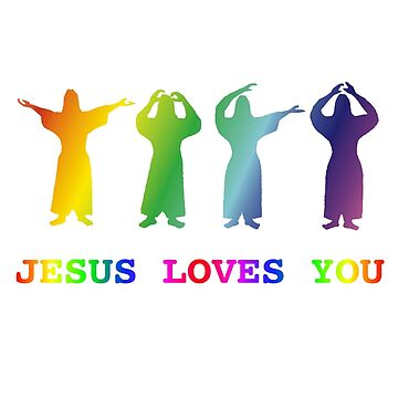Jesus Loves You (YMCA Image & Slogan) by darrikk