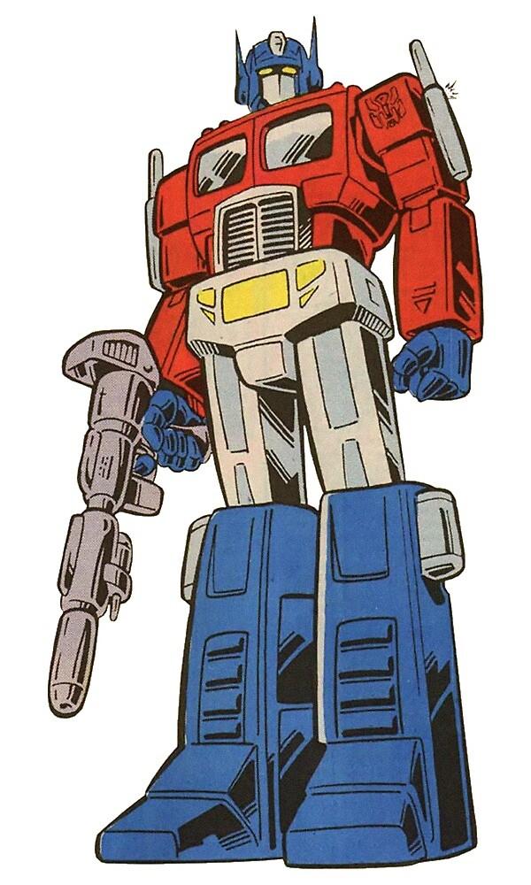 Retro Optimus Prime G1 Comics by Darian Alexander