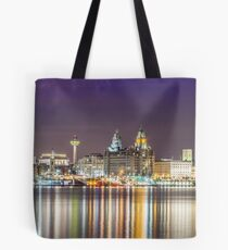 The Liverpool Waterfront Tote Bag
