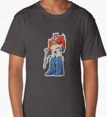 Retro Optimus Prime G1 Comics Long T-Shirt