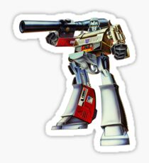 Retro Transformers Megatron G1 Toy Art Sticker