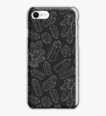 Black Crystals iPhone Case/Skin