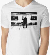 Subway Men's V-Neck T-Shirt