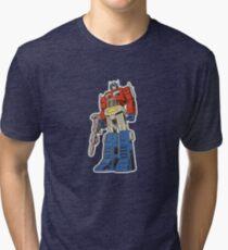 Retro Optimus Prime G1 Comics Tri-blend T-Shirt