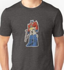 Retro Optimus Prime G1 Comics T-Shirt