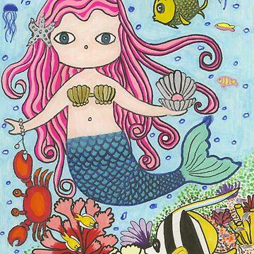 Mermaid by chippychowmein