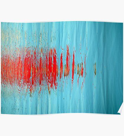 Slash of Red Poster