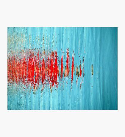 Slash of Red Photographic Print