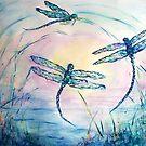 Dragonflies by Robin Monroe