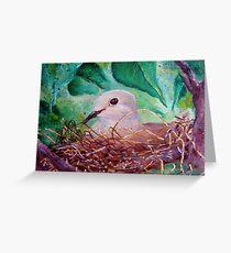 Nesting... Greeting Card