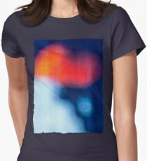 BLUR / burning ice Womens Fitted T-Shirt