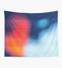 BLUR / burning ice Wall Tapestry