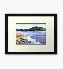 Evening in Karelia Framed Print