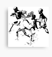 Soccer game Canvas Print