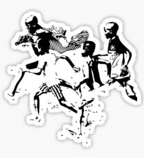 Soccer game Sticker