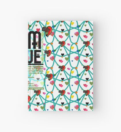 I am Love Hardcover Journal