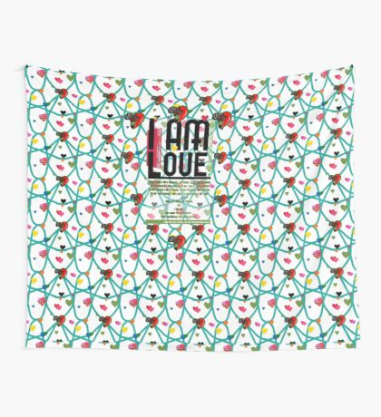 I am Love Wall Tapestry