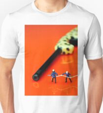 Fire Fighters And Fire Gun Unisex T-Shirt