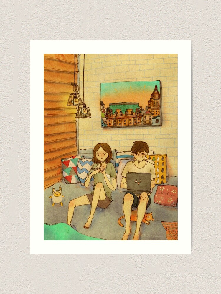Alternate view of Laid-back afternoon Art Print