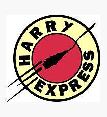 Harry Express Photographic Print