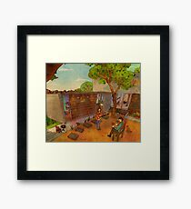 Sing me a pretty song Framed Print