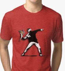 Banksy Anarchist Tri-blend T-Shirt