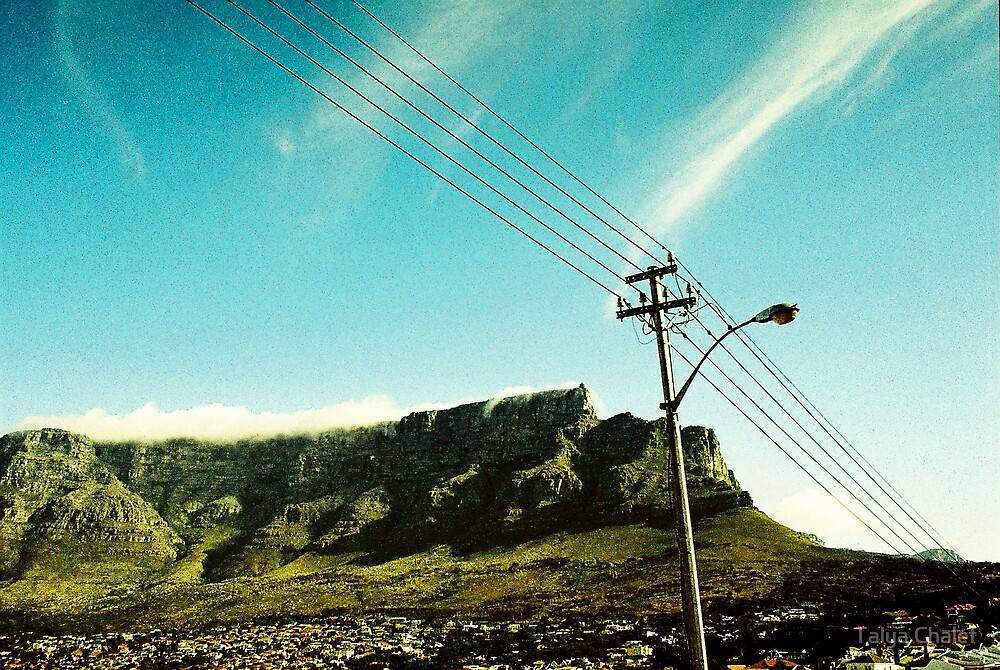 table mountain by Talya Chalef
