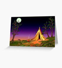 Camping... Greeting Card