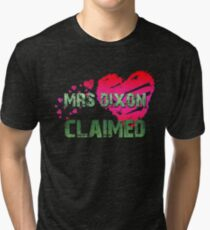 The Walking Dead - Mrs Dixon 3 Tri-blend T-Shirt