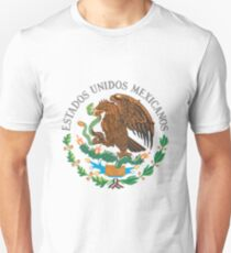 Mexico Coat Of Arms Unisex T-Shirt