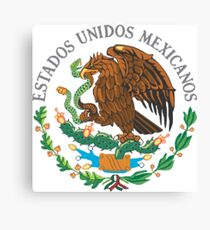 Mexico Coat Of Arms Canvas Print