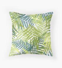 Fern pattern Throw Pillow