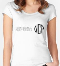 North Central Positronics Women's Fitted Scoop T-Shirt