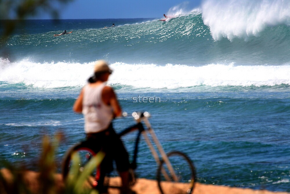 surf check Hawaii style by steen