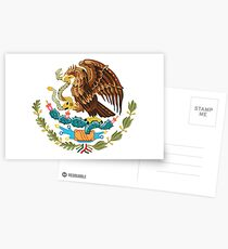 Armoiries mexicaines Cartes postales