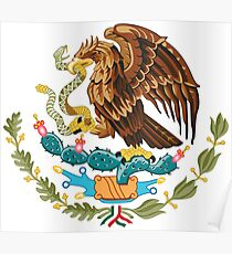Mexican Coat Of Arms Poster