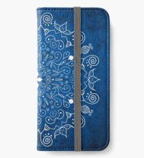 Mandala Blue iPhone Wallet/Case/Skin