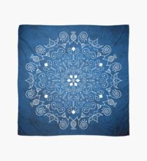 Mandala Blue Scarf