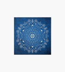 Lámina de exposición Mandala Blue
