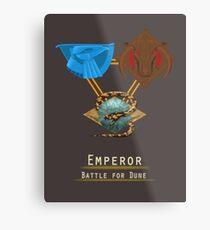Emperor: Battle for Dune houses Metal Print