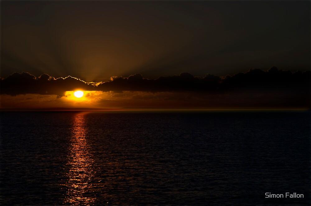 Shorncliffe Sunrise by Simon Fallon