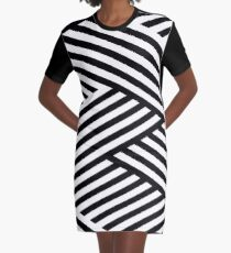 WOVEN STRIPES 101 Graphic T-Shirt Dress