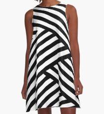 WOVEN STRIPES 101 A-Line Dress