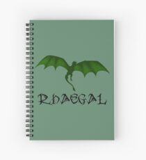 GoT - RHAEGAL Spiral Notebook