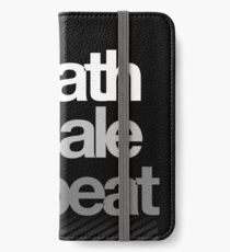 Breath, Exhale, Repeat ... iPhone Wallet/Case/Skin
