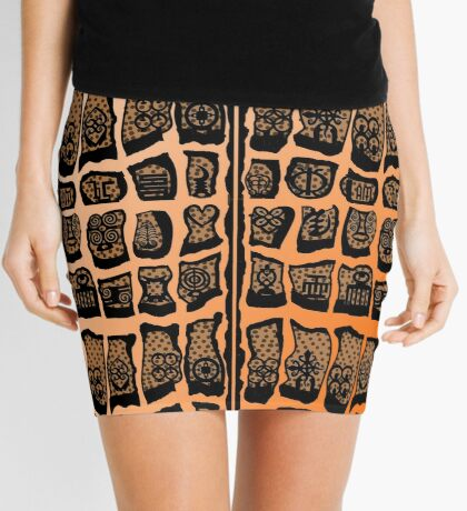 FIre Within  Mini Skirt