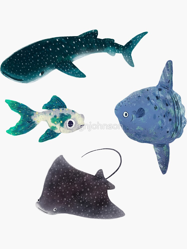 Fishy Sticker Pack by tarynjohnson